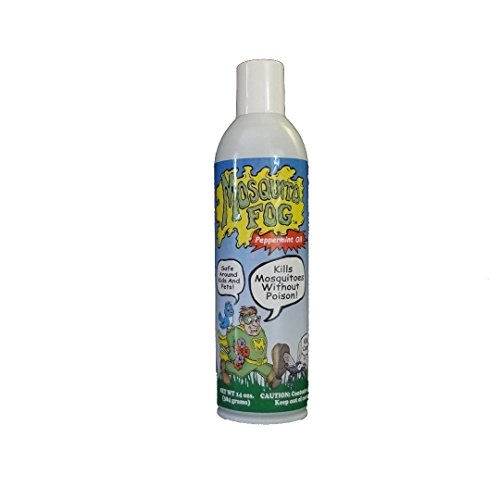 Mosquito Fog Non-toxic Organic Mosquito Killer Aerosol Spray (with Peppermint)